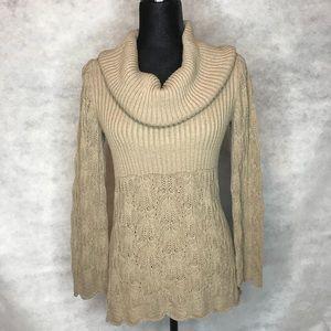 Valerie Stevens Cowl Neck Sweater